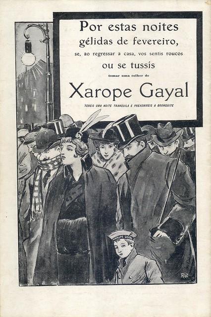 Ilustração Portugueza, No. 470, February 22 1915 - back cover