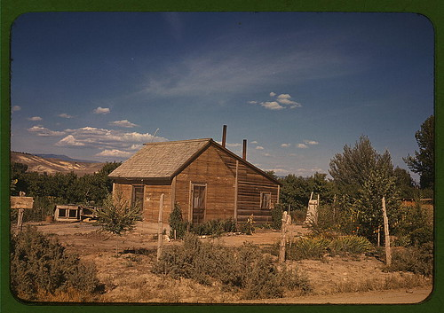 Home of a fruit tree rancher, Delta County, Colo.  (LOC) | by The Library of Congress