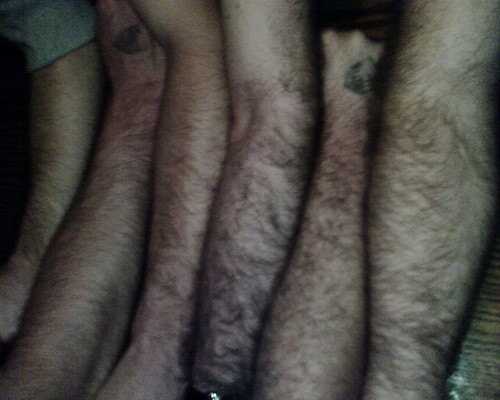 Hairy Arms at Taint | by Jimbo3DC