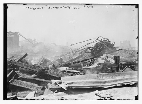 """Dreamland"" burned, Coney Island, 5/27/11  (LOC) 