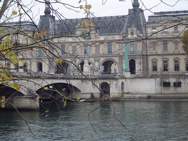 Louvre from across the Seine