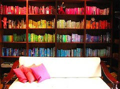rainbow-bookshelf | by this_could_be_my_house