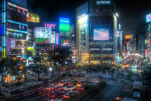Shibuya Night (HDR) | by Guwashi999