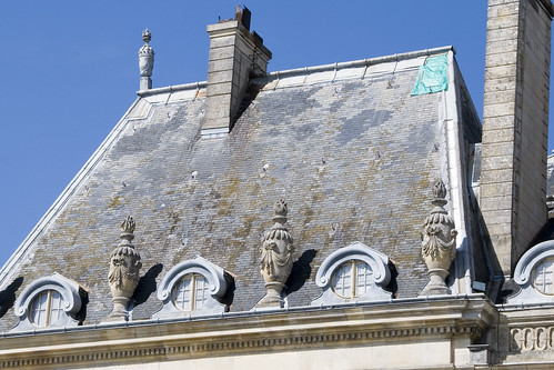 Vaux-le-Vicomte: Roof Restoration (before) | by edlimphoto