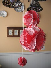 doily ornaments | by Veronica TM