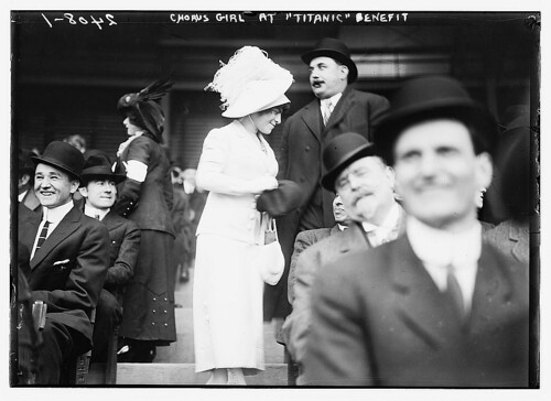 Chorus girl at TITANIC benefit  (LOC) | by The Library of Congress