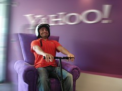 The Yahoo! Big Idea Chair speeds through Mexico City | by Yahoo Inc