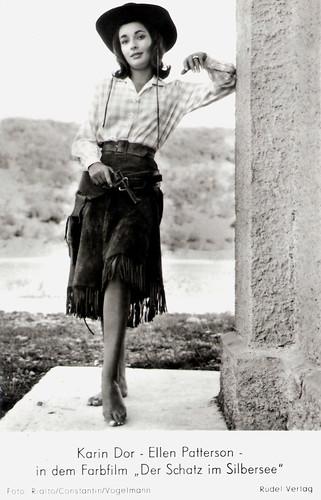 Karin Dor in Der Schatz im Silbersee (1962)