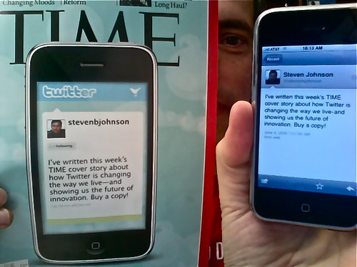 Time Cover Story: How Twitter Will Change The Way We Live (in 140 characters of less) | by stevegarfield