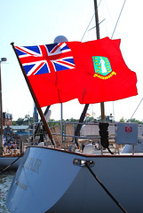 Civil Ensign, British Virgin Islands, Annapolis Harbour 0090737