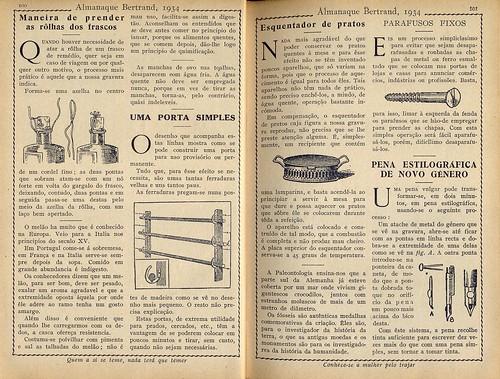 Almanaque Bertrand, 1934 - Assorted knowledge 7