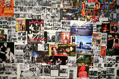 A Rock and Roll Teenager's Bedroom Wall | by Mas-Luka