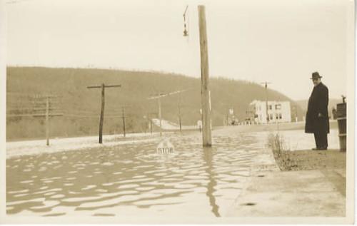 1936 flood, Sunbury, PA   Front: Printed Caption ...