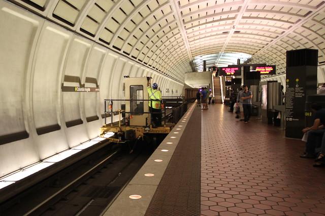 Metro Track Repair Vehicle
