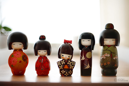 The Kokeshi family - and so they were five | by Fi20100