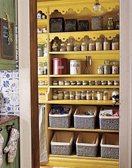 Rustic Kitchen Pantry | by decorology