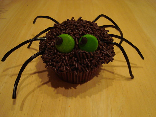 Spider Cupcake | by IMAKECAKES