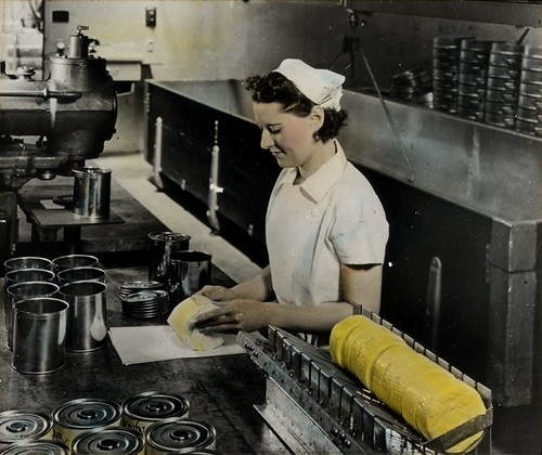 Cheese canning process | by OSU Special Collections & Archives : Commons