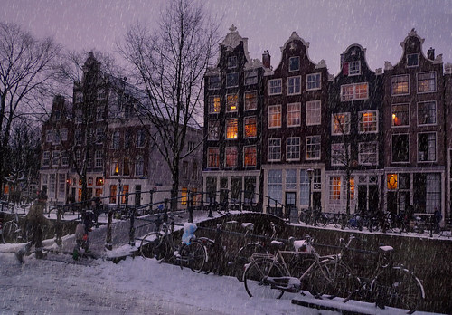 Let it snow in the Amsterdam | by B℮n
