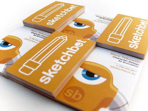 Sketchbot Biz Card V2 | by sketchguy
