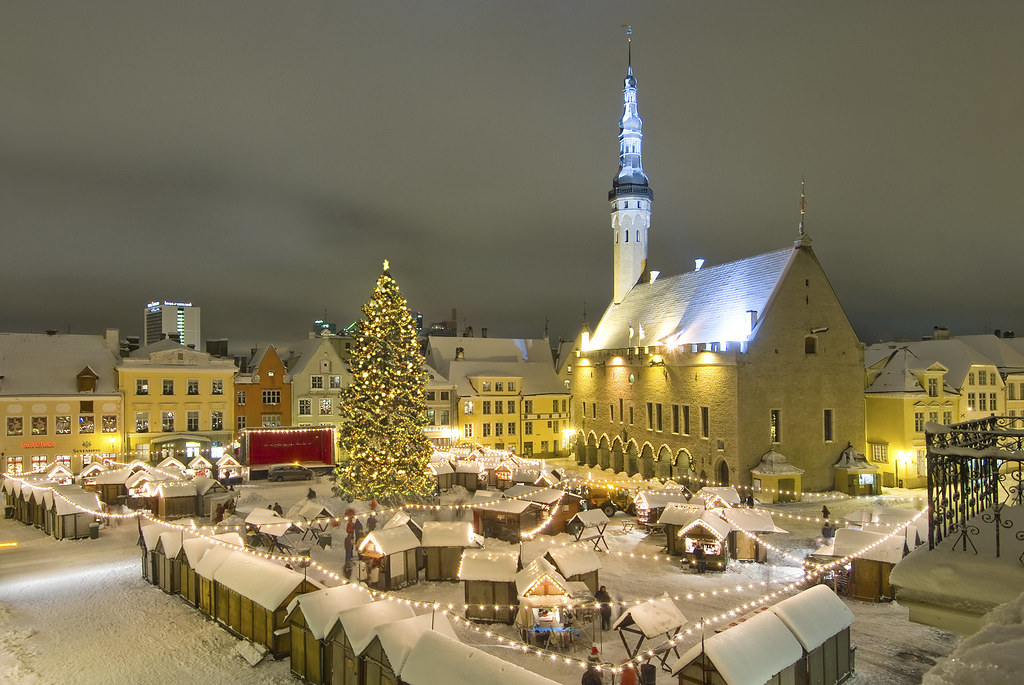 Christmas Market in the Town Hall Square