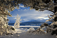 Loch Morlich and the Cairngorms | by freeskiing