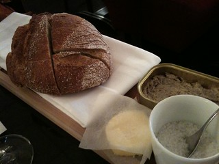 Thoumieux: Bread + butter + sardine rillettes | by clotilde