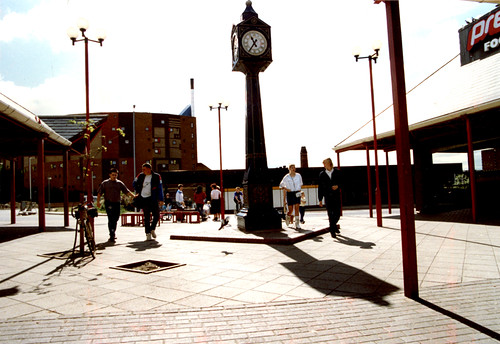 052157:Clock Tower next to Byker Metro Station