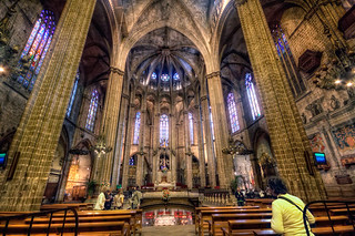 Cathedral of Santa Eulalia – Catedral de Santa Eulalia, Barcelona (Spain), HDR | by marcp_dmoz