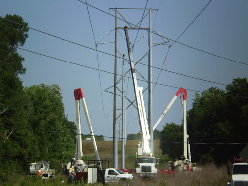 Tower changeout | by 3 Phase Powerlines