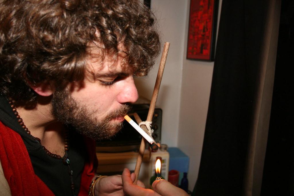 Jesus smokes menthol