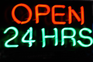 Open 24 Hours | by CCD Man