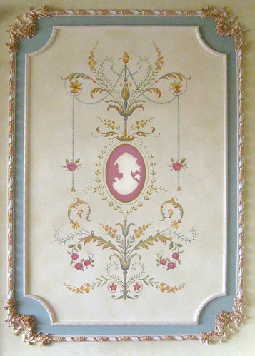 French Panel Stencil. Beautiful wall stencils by Cutting Edge Stencils. | by cuttingedgestencils
