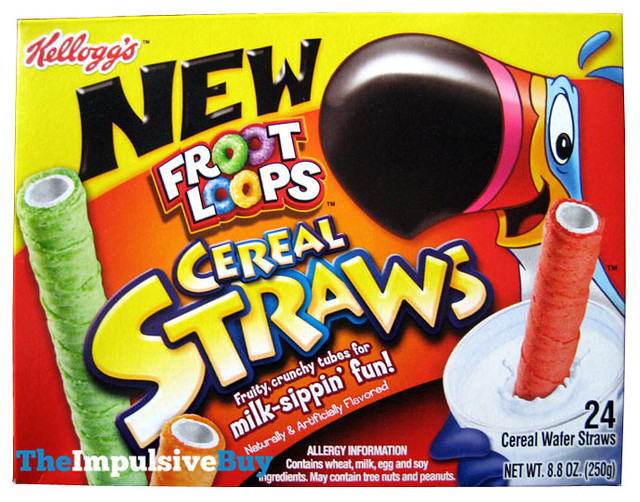 REVIEW: Froot Loops Cereal Straws - The Impulsive Buy
