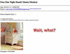 one night stand sites craig list