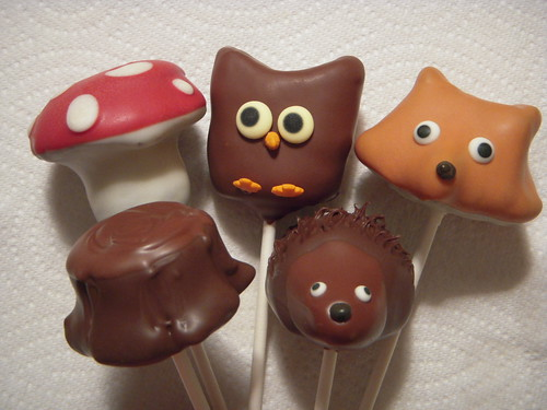 Woodland cake pops | by papertreats