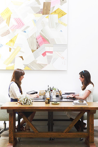 inspiring work spaces | by the style files