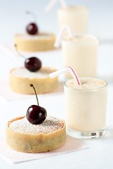 Cherry & Almond Frangipane Tarts & Cherry Pit Ice Cream Milkshakes | by tartelette