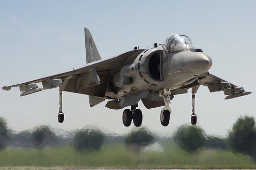 Harrier Hovering - 2009 QCAS | by Kris Klop