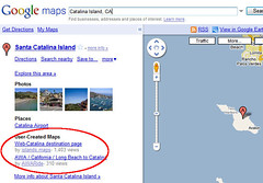 A Custom Map for Catalina Island in Google Maps | by Si1very