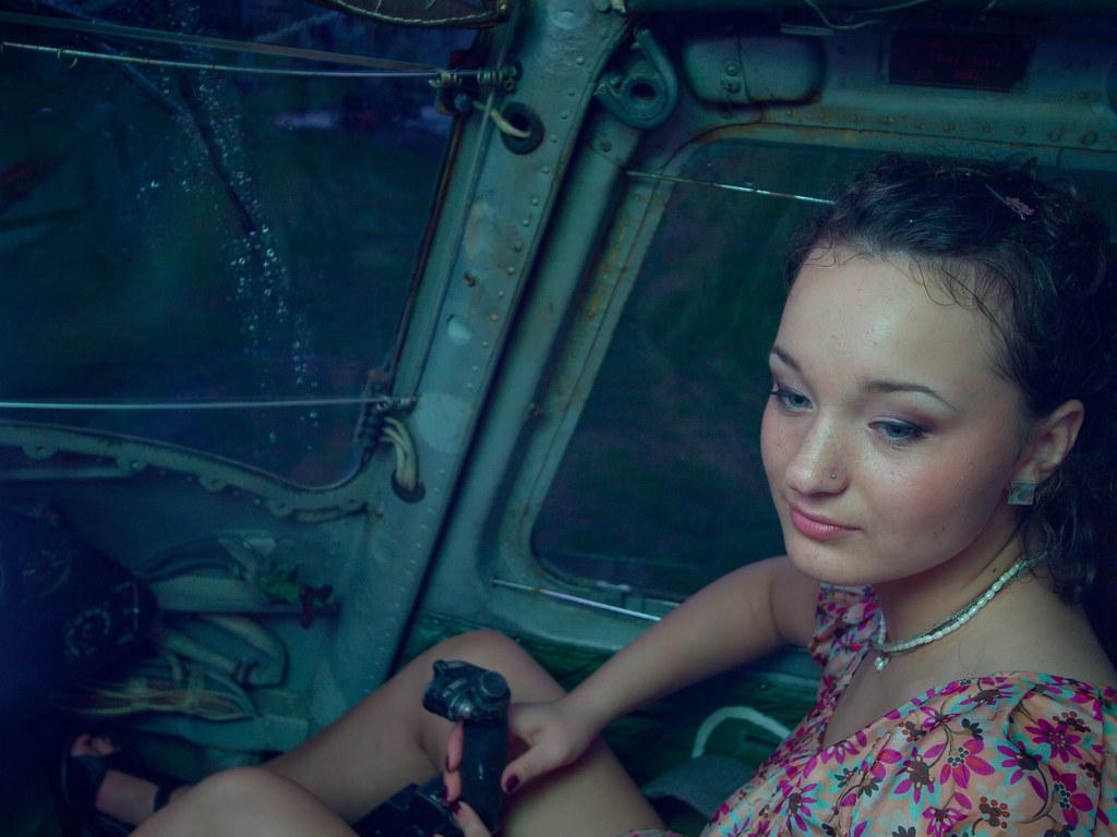 Fotosesija helikopterā