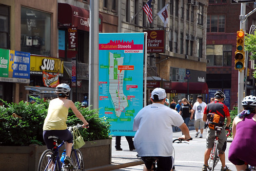 New York City Summer Streets program