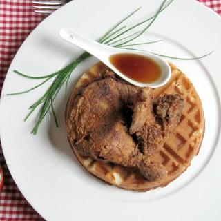(Thomas Keller Fried) Chicken and Waffles | by SeppySills