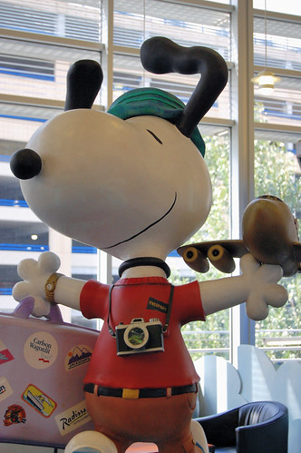 Snoopy the World Traveler | by jpellgen