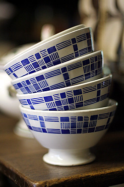 my coffee bowls | by David Lebovitz
