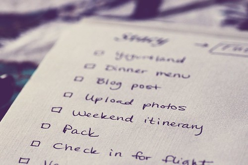 tuesday to-do list | by Stacy Spensley