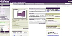 Scottrade interface | by sunsfinancial