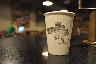 15 Ave Coffee  & Tea Coffee Cup | by andai
