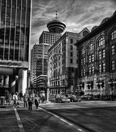 Downtown Vancouver, British Columbia (HDR) | by Brandon Godfrey