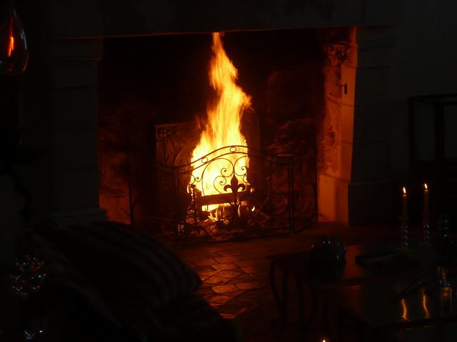 Très grand feu